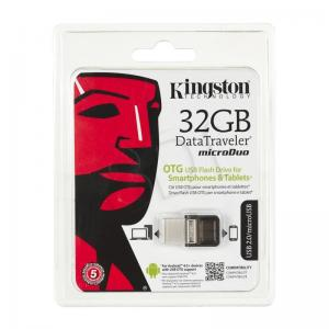 Kingston Flashdrive DataTraveler microDuo 32GB USB 2.0